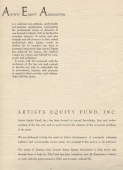 About Artists Equity